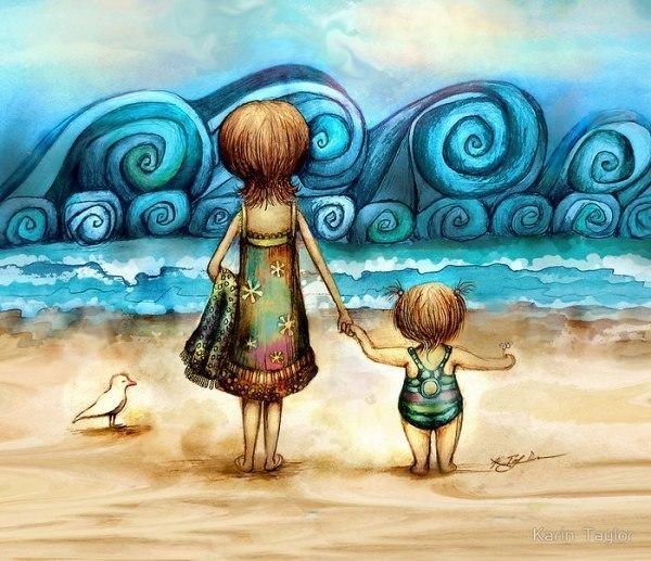 Радужные иллюстрации Karin Taylor1 (600x517, 342Kb)