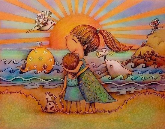 Радужные иллюстрации Karin Taylor3 (550x432, 293Kb)