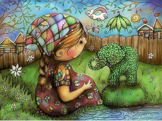 Радужные иллюстрации Karin Taylor5 (550x413, 346Kb)