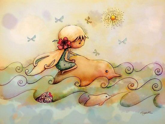 Радужные иллюстрации Karin Taylor7 (550x413, 190Kb)