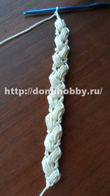 "Вязание крючком шнура """