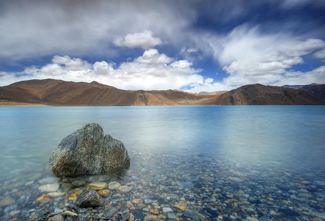 горное Озеро Бангонг-Цо фото 1 (670x456, 195Kb)