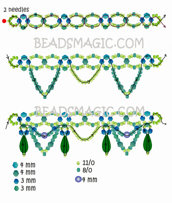 free-beading-tutorial-necklace-22 (592x700, 312Kb)