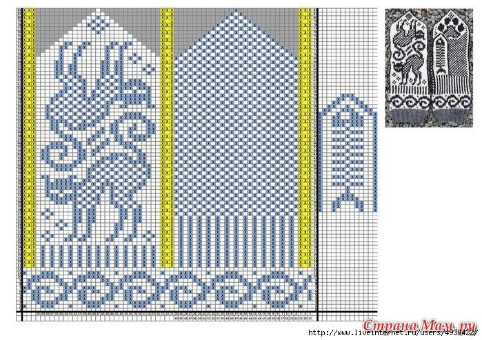 схемы для варежек8 (700x494,