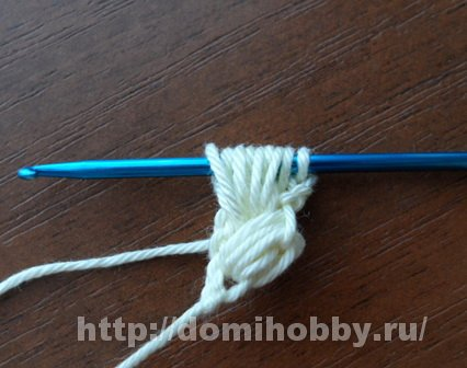 Крючок вязание длинные петли 80