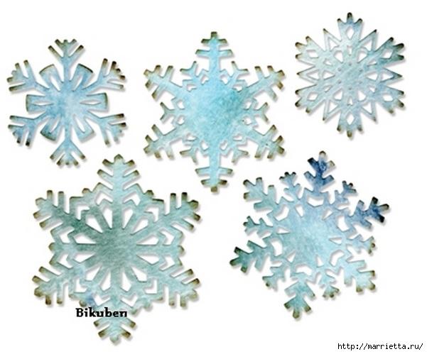 Новогодние теги со снежинками (2) (601x499, 130Kb)