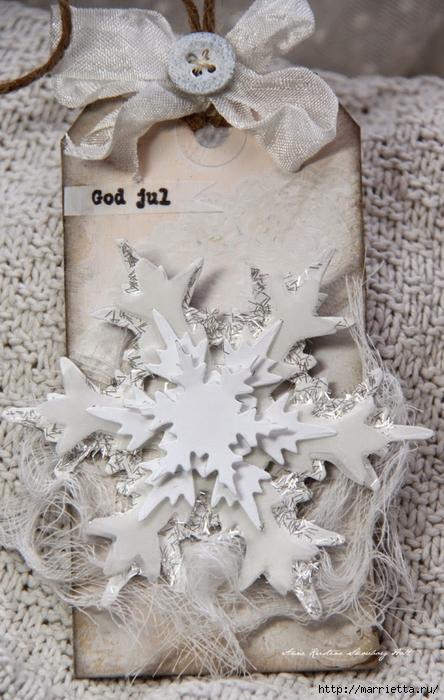 Новогодние теги со снежинками (11) (444x700, 278Kb)