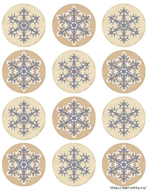 шаблоны снежинок (1) (495x640, 265Kb)