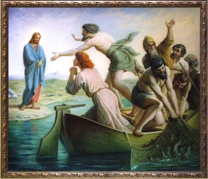 ловить человеков евангелие