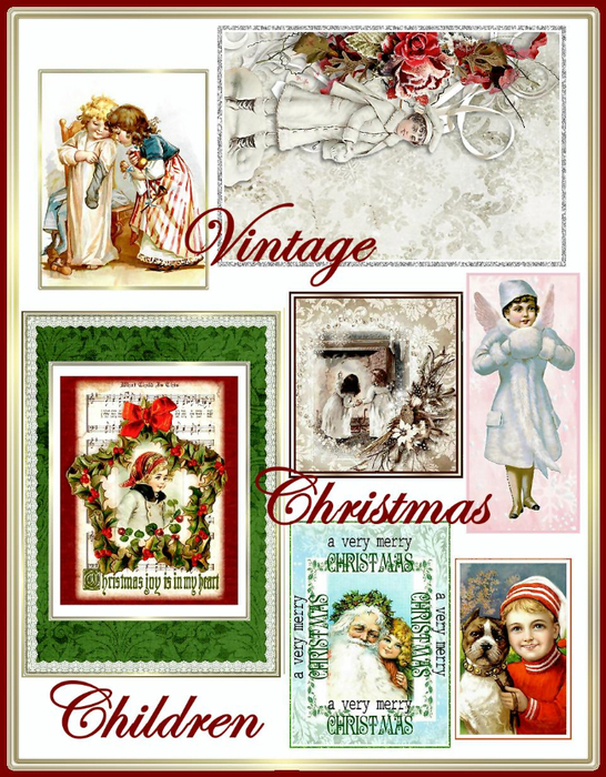 Vintage_Christmas_Children_Collage_Sheet_Sample (546x700, 513Kb)