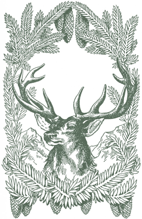 Vintage-Christmas-Deer-Image-GraphicsFairy-grn-667x1024 (455x700, 346Kb)