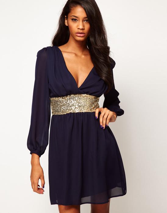 Платье из шифона (548x700, 78Kb)