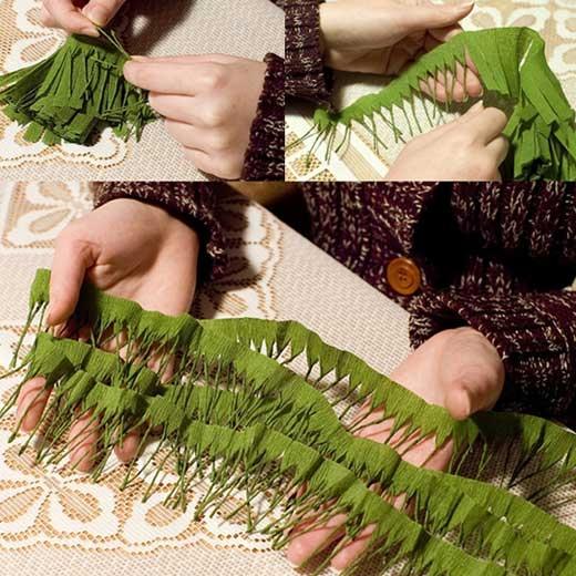 How-to-DIY-Mini-Crepe-Paper-Christmas-Tree3 (520x520, 198Kb)