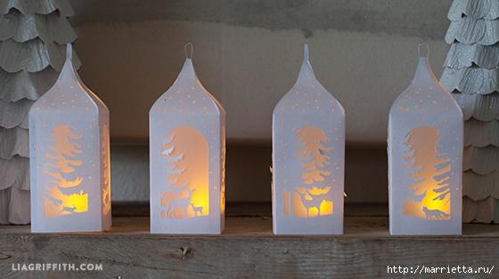 Новогодние бумажные фонарики (3) (560x314, 130Kb)