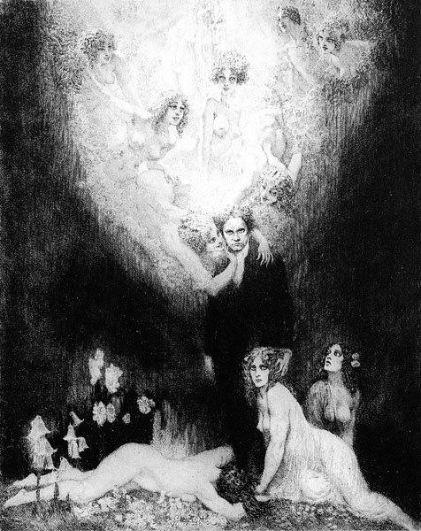 Норман Линдсей (Norman Lindsay), 1879-1969 18+++ 8e43a1 (476x600, 229Kb)