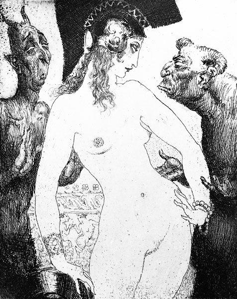 Норман Линдсей (Norman Lindsay), 1879-1969 18+++ 566d612 (476x600, 257Kb)