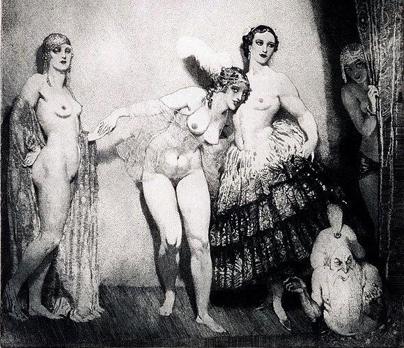 Норман Линдсей (Norman Lindsay), 1879-1969 18+++ f4d87f399 (580x500, 320Kb)