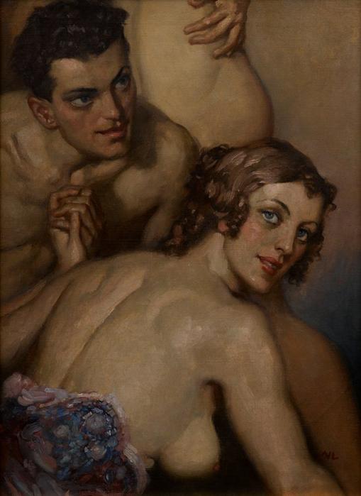 Норман Линдсей (Norman Lindsay), 1879-1969 18+++ 17587636_1_l (509x700, 296Kb)