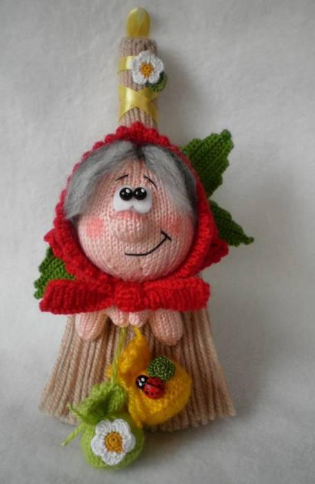 Домовушка луша вязание спицами 1