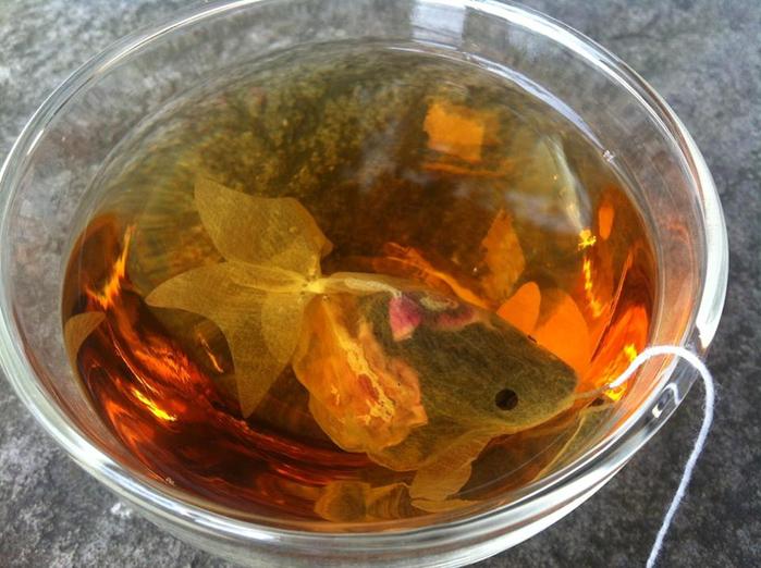 Чайные пакетики от фирмы CHARM VILLA