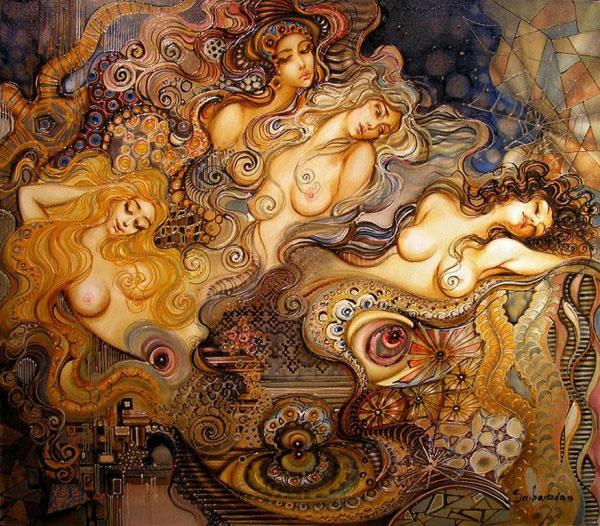 картины Авраама Саакяна 1 (600x526, 331Kb)