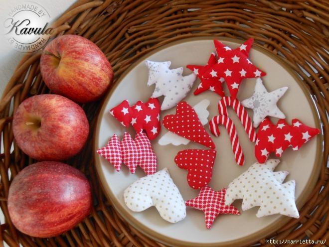 Текстильные игрушки для новогоднего венка (11) (660x496, 197Kb)