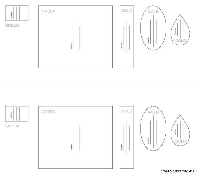 ШИШКИ из гофрированной бумаги (4) (680x600, 54Kb)