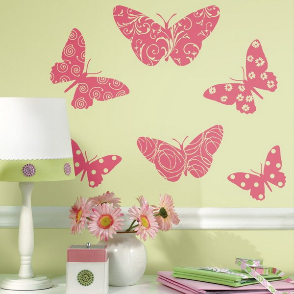 Картинки с бабочками и цветами своими руками