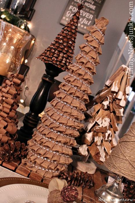 Новогодние елки из мешковины (3) (466x700, 365Kb)