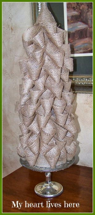 Новогодние елки из мешковины (9) (309x700, 285Kb)