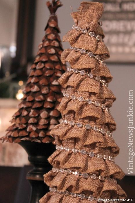 Новогодние елки из мешковины (20) (466x700, 299Kb)
