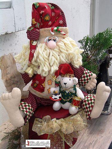 Дед мороз текстиль своими руками 652