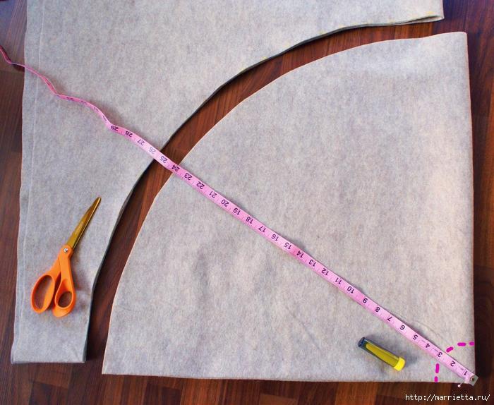 Как сшить юбочку для новогодней елки. Мастер-класс (2) (700x574, 365Kb)
