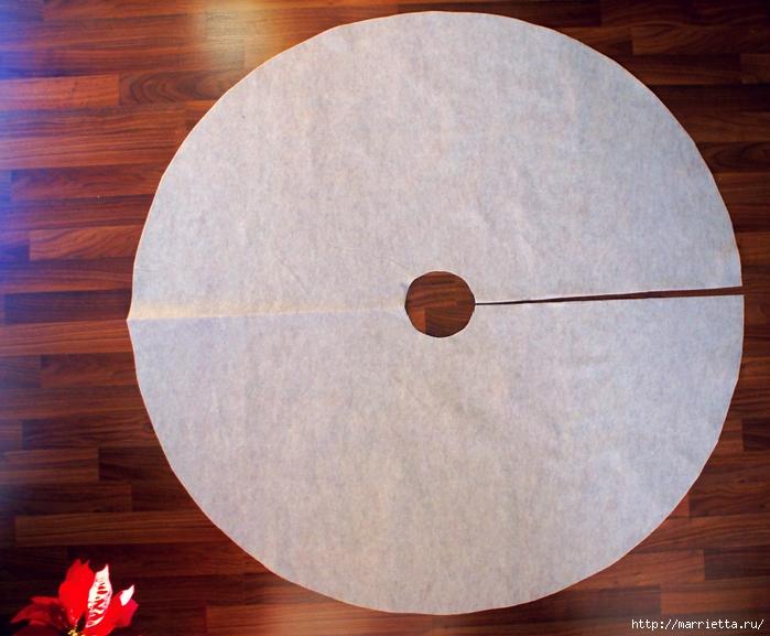 Как сшить юбочку для новогодней елки. Мастер-класс (3) (700x577, 304Kb)