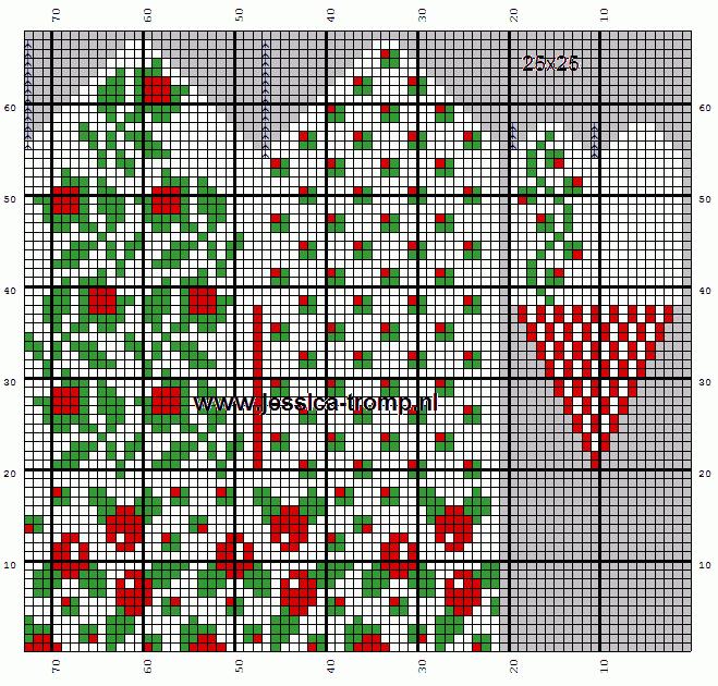 25x25 mittens wanten (659x630, 5Kb)