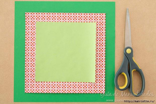 Новогодние елочки из бумаги в технике оригами (2) (620x413, 160Kb)