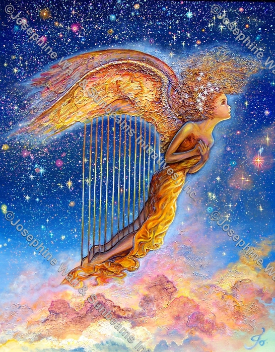 Harp Angel (546x700, 437Kb)