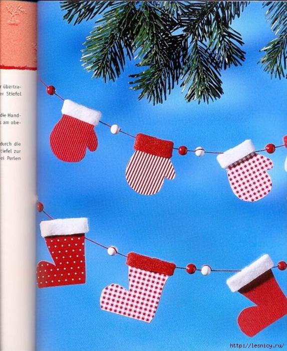 Поделки на рождество с фото инструкцией