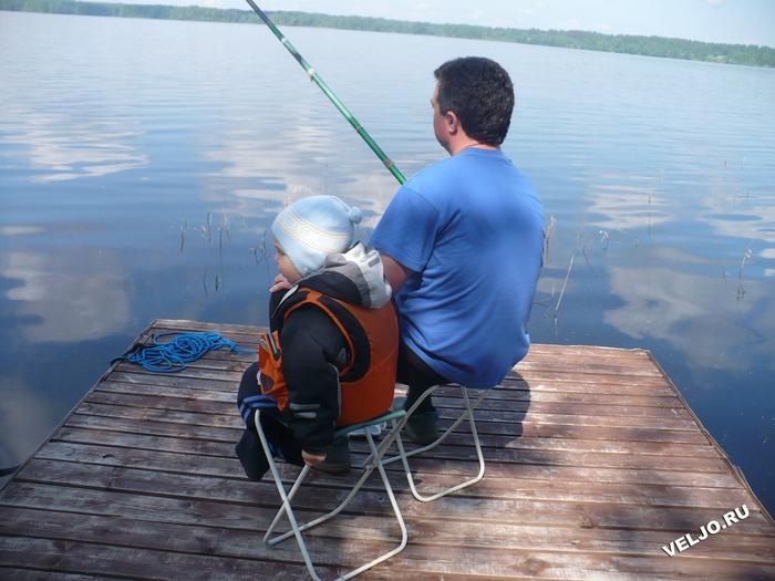 рыбалка с отцом взрослые