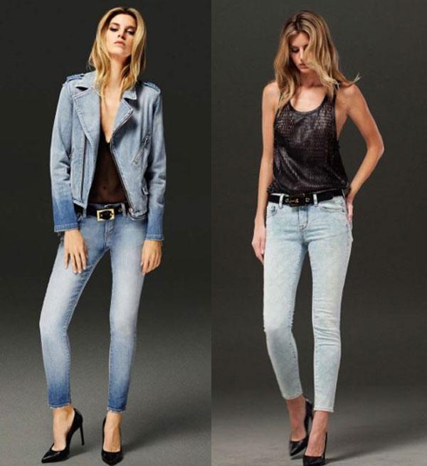Фото ножек в обтягивающих джинсах 16 фотография