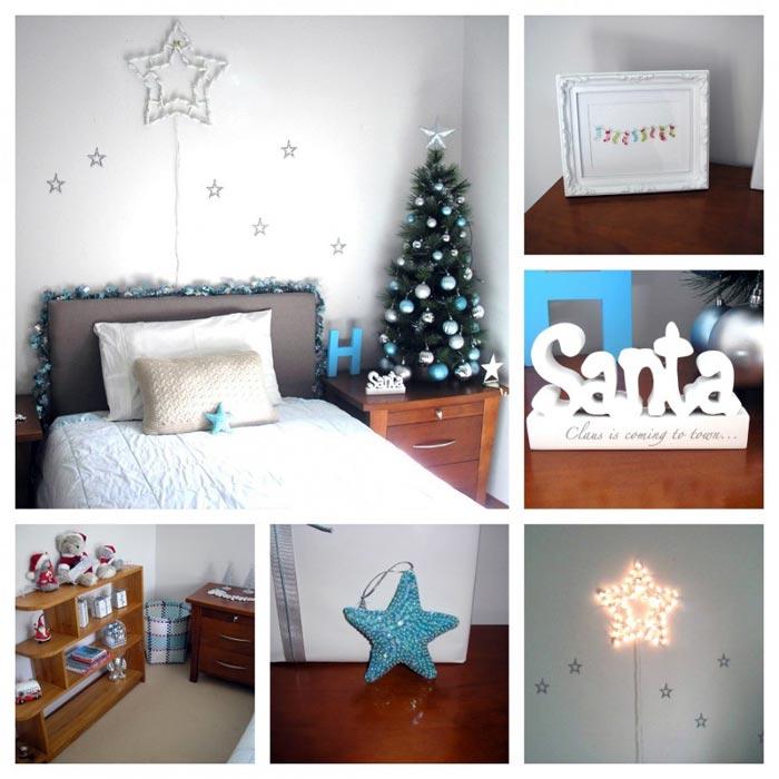 Decorate bedroom christmas