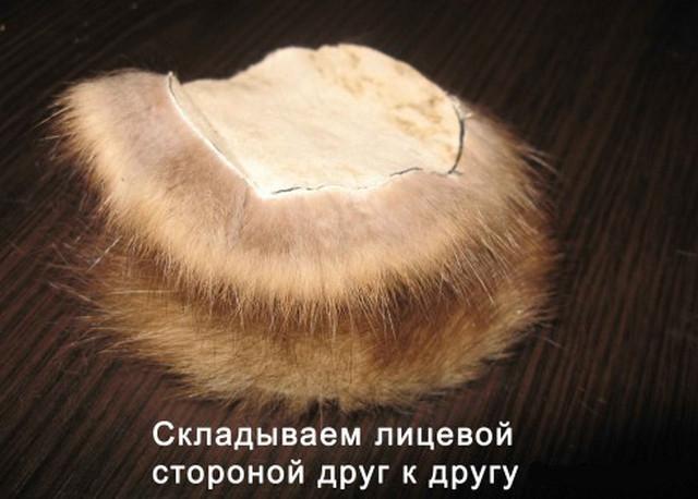 Как сшить наушники из меха своими руками