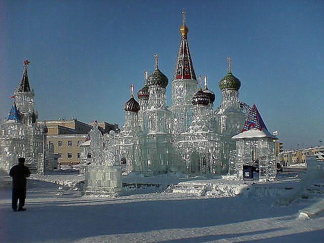 чудо из льда. Ледяной дворец. (640x480, 62Kb)