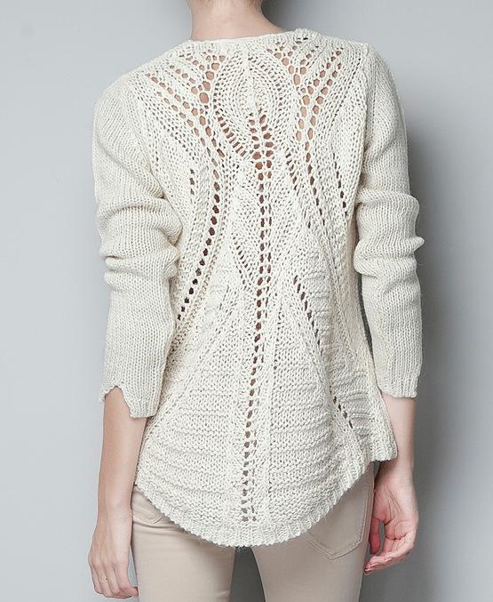 пуловер спицами (555x677, 319Kb)