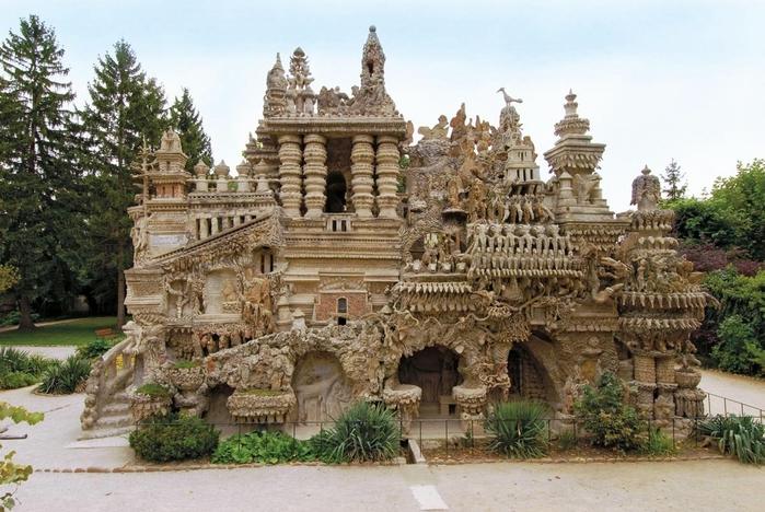 идеальный дворец почтальона Фердинанда Шеваля фото 2 (700x468, 281Kb)