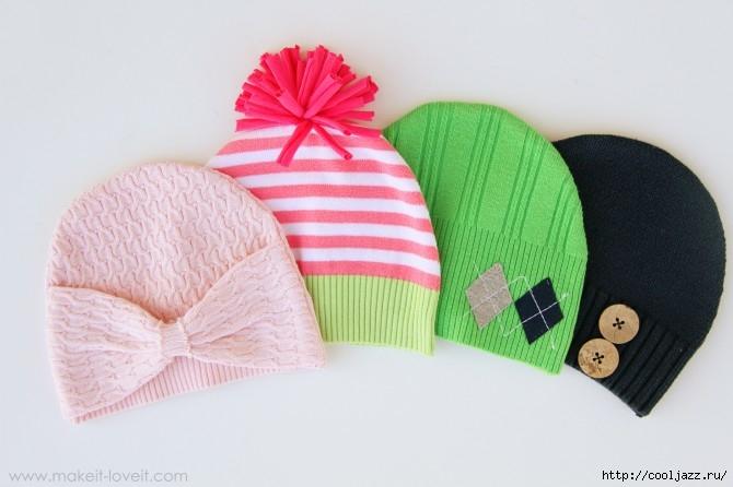 шапочки из свитеров18 (670x446, 131Kb)