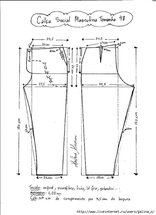 36 размер брюк