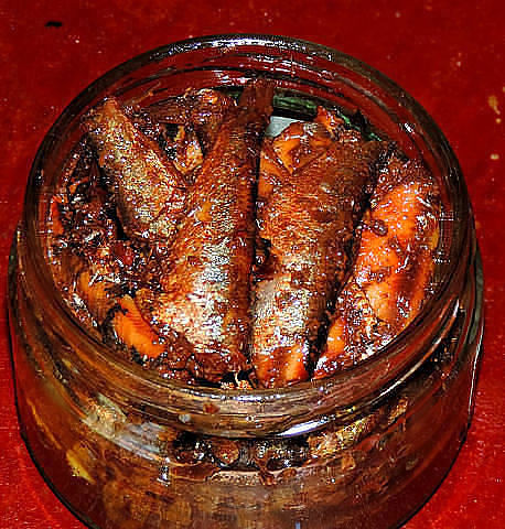 Рыбные консервы в домашних условиях масле