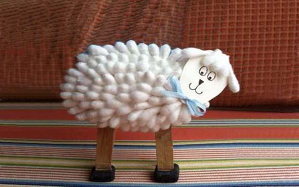 2015 год козы поделка