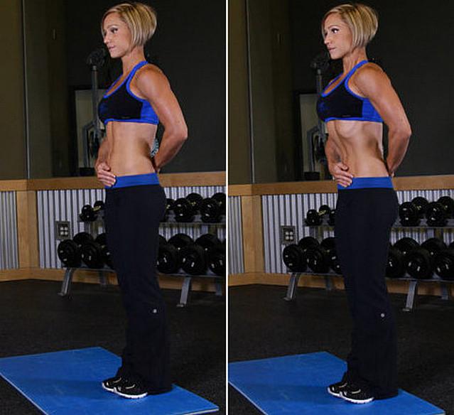 Как правильно сделать упражнение вакуум